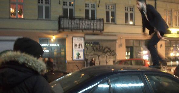 Imagen de Malmö la noche de Fin de Año.