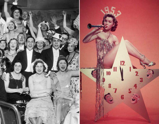 Tiempos felices sin multiculturalidad: Imágenes de la Nochevieja en Suecia en los años 50.