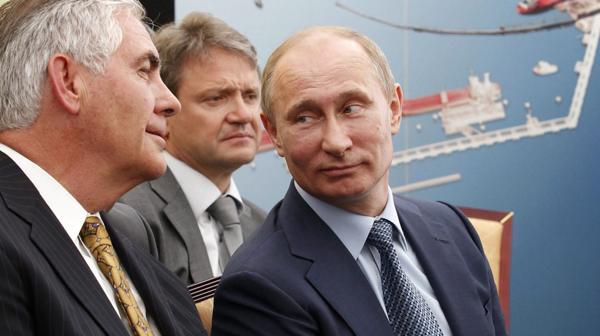 Rex Tillerson, cercano a Vladimir Putin, fue elegido como secretario de Estado de Donald Trump