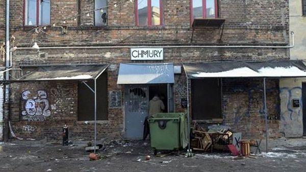 Así quedó el bar después del ataque