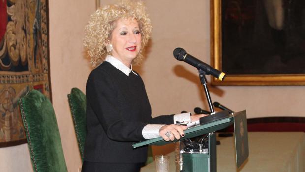 Bernadette Vergnaud, durante su intervención en Ronda