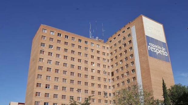 El Hospital Clínico de Valladolid, donde fue trasladada la víctima