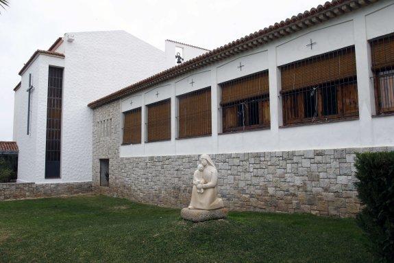 Convento carmelita de Puçol, uno de los monasterios afectados por los robos.
