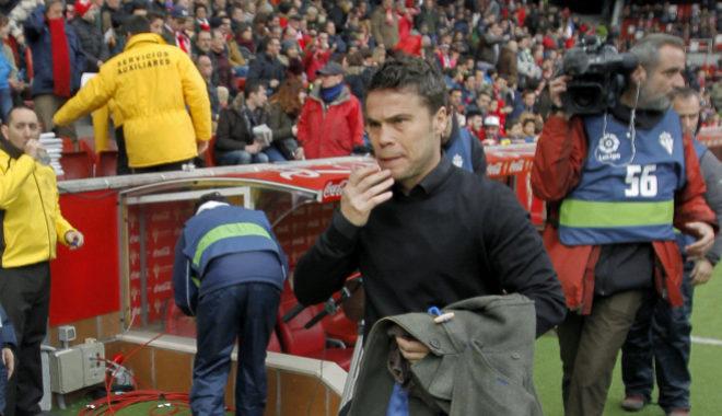 Joan Francesc Ferrer 'Rubi', al inicio del partido liguero ante el Alavés.