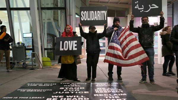 Protestas de inmigrantes