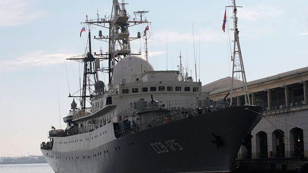 El SSV-175 Viktor Leonov, en La Habana