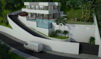 Edificio resistente a seísmos en Fuengirola.