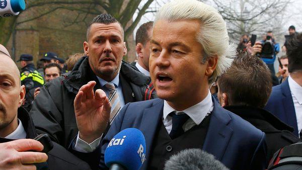 Geert Wilders es el favorito para las elecciones del 15 de marzo
