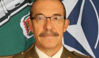 El teniente general Alejandre, en una foto oficial con la OTAN