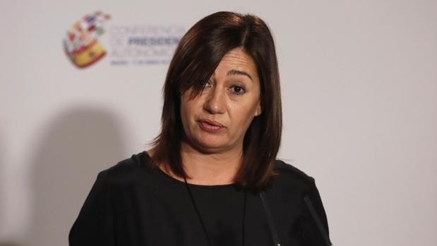 La socialista Francina Armengol, presidenta de Baleares