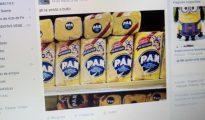 Captura de una publicación de un grupo de la red social Facebook, dedicado al intercambio y venta de bienes entre usuarios, en Caracas (Venezuela)