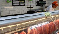 Fotografía de carne para la venta en Río de Janeiro (Brasil).