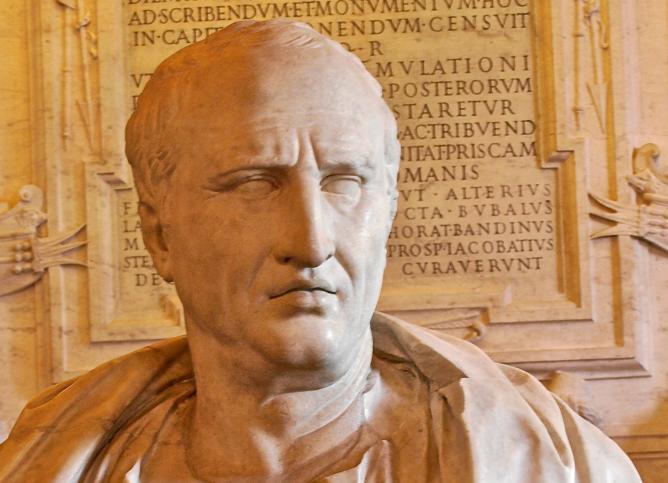 Cicerón.