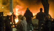 Disturbios en Suecia, una imagen imposible hace unos años.
