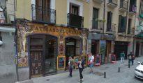 Los hechos se produjeron en la madrileña calle de La Cruz