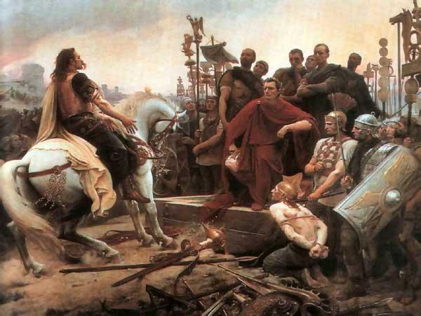 La guerra de las Galias.