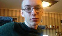 Marcel Hesse, de 19 años, sospechoso de haber matado a un niño de 9 años y subir el vídeo del crimen a Internet en Herne (Alemania).
