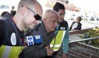 Paco Sanz a su llegada a los juzgados de Llira (Valencia) para prestar declaración ante el juez el pasado 9 de marzo