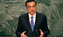 """El primer ministro chino Li Keqiang dijo que su país """"impulsará la globalización económica"""""""
