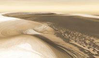 (Marte – simulación NASA, JPL, Arizona State University, R. Luk )
