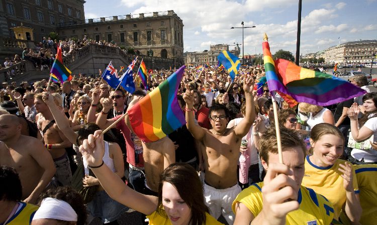 Suecia promediado gay