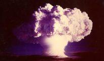 Explosión de la bomba termonuclear Ivy Mike (1 de noviembre de 1952)
