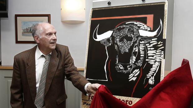 José Antonio Eslava descubre el cartel