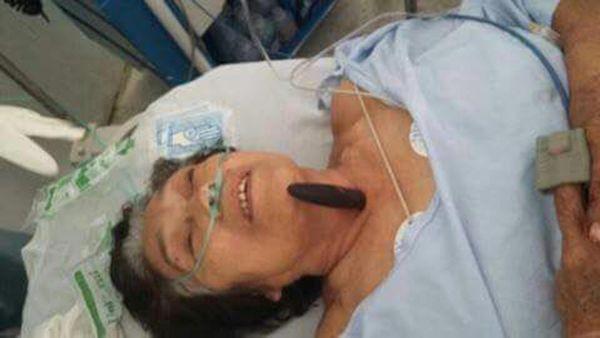 Así llegó Catalina al hospital