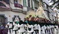 Nuestra Señora de los Cautivos, que desfila el Miércoles Santo en Ferrol con la Cofradía de la Merced