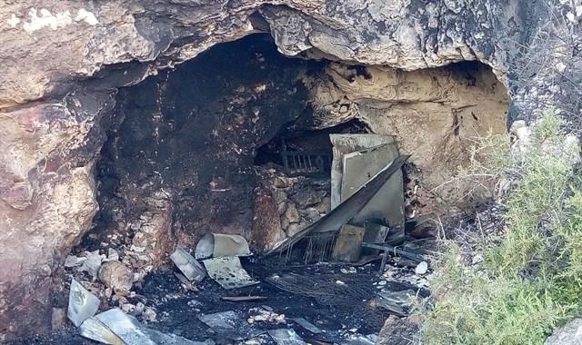 La cueva donde ocurrieron los hechos (Foto Europa Press)