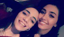 Imagen de María Jimena (izquierda) y Shaza, facilitada por su hermana - Diario Sur