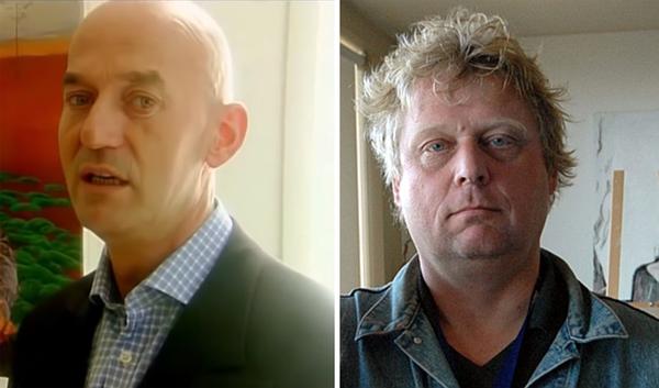Los Países Bajos ya han sufrido dos asesinatos políticos relacionados con el islam: el del político Pim Fortuyn (izquierda) y el del cineasta Theo van Gogh (derecha). (Foto de Van Gogh - Wikimedia Commons; Foto de Pim Fortuyn - Forza! Nederland video screenshot).