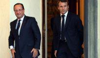 Macron y Hollande