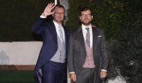Javier Maroto y su marido Josema Rodríguez