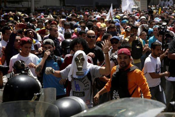 En los últimos dos días, la represión fue brutal contra los manifestantes