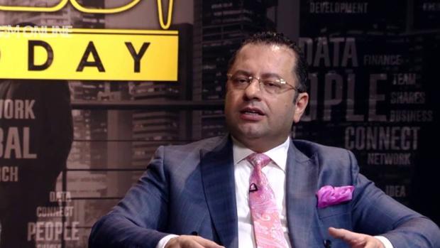 El presidente de la cadena iraní de TV por satélite GEM, Saeed Karimian