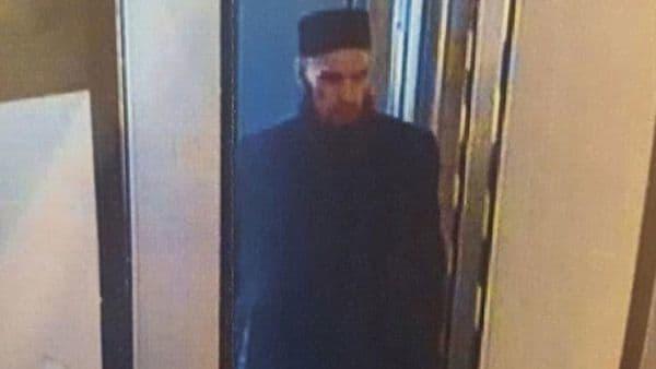 La imagen del sospechoso difundida por las autoridades rusas