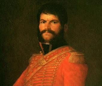 """Juan Martín Díez """"El Empecinado"""" (óleo de Goya)"""