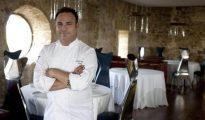 Ángel León es el propietario del restaurante Aponiente de dos Estrellas Michelín en El Puerto de Santa María