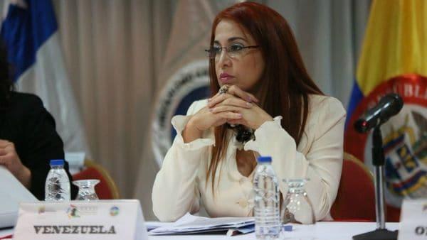 Antonieta Carporale, ex ministra de salud venezolana.