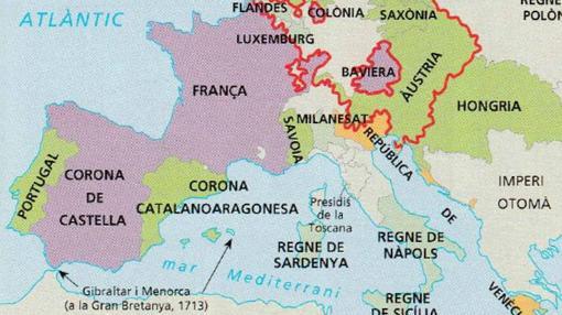 La Corona de Aragón, 'rebautizada' como «Corona catalanoaragonesa»