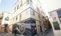 Edicio de la Generalitat Valenciana en el barrio de Velluters de Valencia Edificio de la Generalidad Valencian ... el que operaban los traficantes.