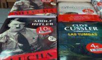 """Ejemplares del libro """"Mi lucha"""" en la Feria del Libro Antiguo y de Ocasión de Madrid de 2017"""