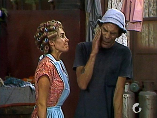 Doña Florinda y don Ramón.