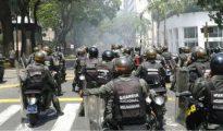 La represión de la Guardia Nacional Bolivariana