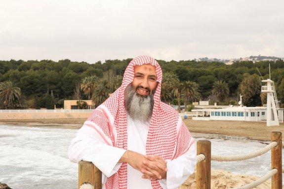 El egipcio Abu Adam Shashaa, posa en Moraira, en una imagen de 2015.