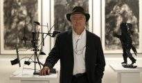El artista surafricano William Kentridge, fotografiado en el Centro de Arte Contemporáneo de Málaga
