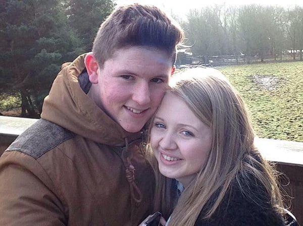 Liam Curry, de 19 años, y su novia Chloe Rutherford, de 17, desaparecidos
