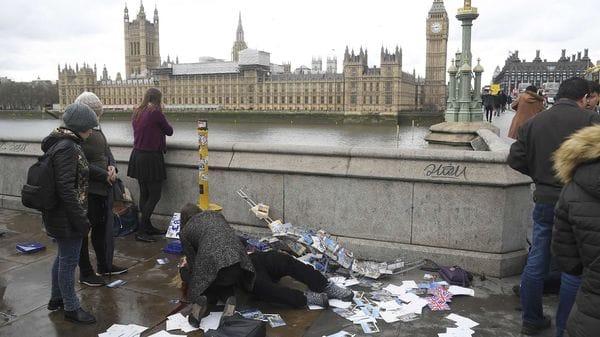 El ataque en Londres el 22 de marzo de 2017