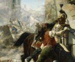 Malasaña y su hija batiéndose contra los franceses